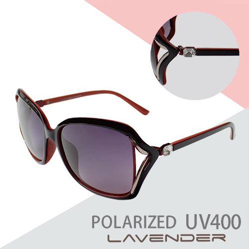 Lavender 偏光太陽眼鏡 H7980 C2 紅