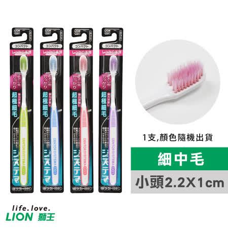 【LION 日本獅王】固齒佳薄深潔牙刷-小頭