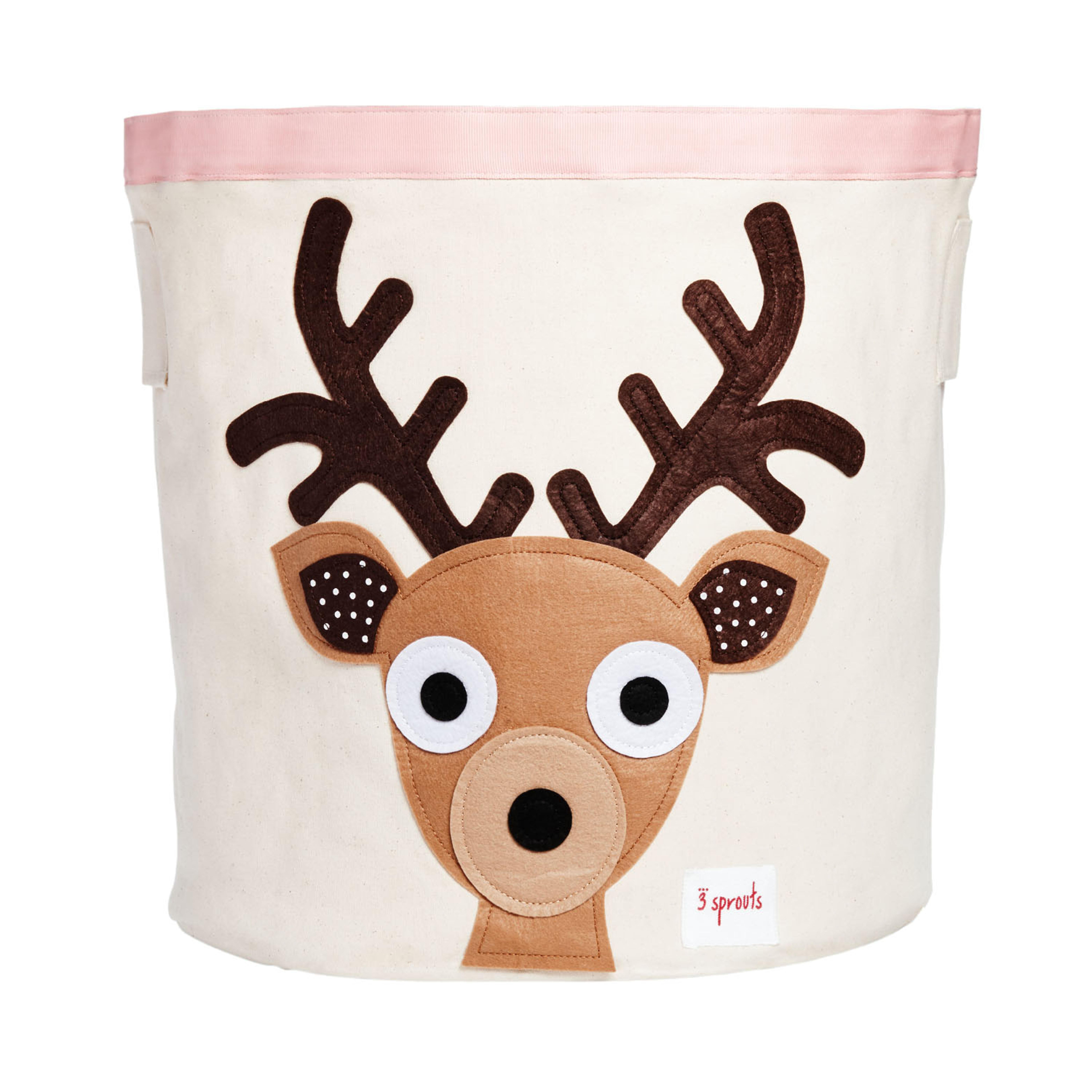 【讚品牌】加拿大 3 Sprouts 收納籃-小鹿