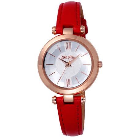Folli Follie 擁抱曙光時尚腕錶-WF16R009SPS-DR