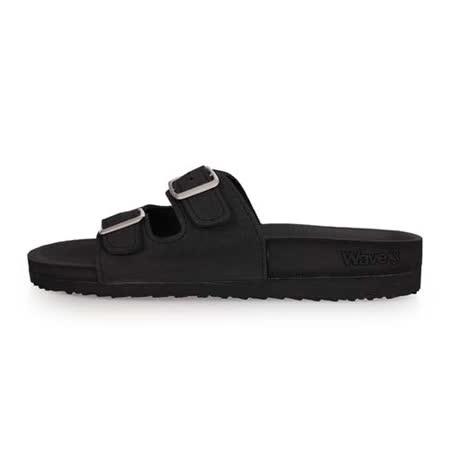 (女) WAVE3 水手鞋-拖鞋 游泳 戲水 海邊 海灘 沙灘 黑