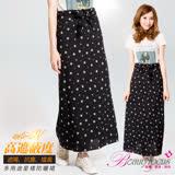 【BeautyFocus】台灣製星星綁帶多功能防曬裙-4402黑色