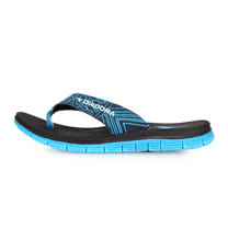 (男) DIADORA 運動拖鞋-夾腳拖鞋 人字拖 游泳 戲水 海邊 海灘 沙灘 黑藍白