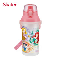 Skater直飲冷水壺 (480ml) 迪士尼公主-Diamond