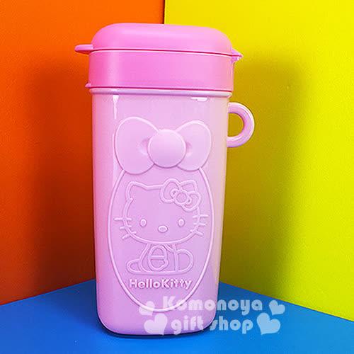 〔小禮堂〕Hello Kitty 零食盒~粉.側坐.蝴蝶結~方便隨身攜帶