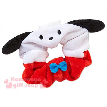 〔小禮堂〕帕恰狗 造型髮圈《紅白.大臉》也可當可愛手環