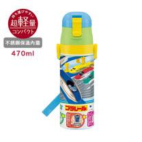 日本Skater不鏽鋼直飲保溫水壺(470ml) 新幹線