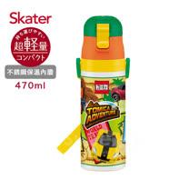 日本Skater不鏽鋼直飲保溫水壺(470ml) TOMICA-冒險篇