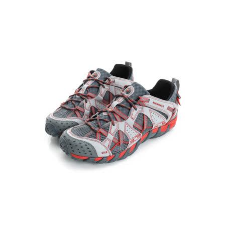 Merrell 男鞋 溯溪鞋 灰紅 WATERPRO MAIPO - ML02341