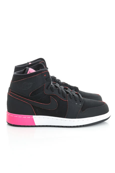 NIKE 大童鞋 篮球鞋 黑 AIR JORDAN 1 RETRO HIGH GG - 332148024