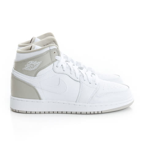 NIKE 大童鞋 篮球鞋 白 AIR JORDAN 1 RETRO HIGH GG - 332148116