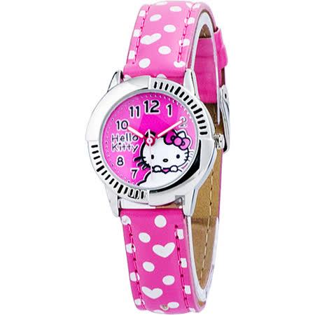 HELLO KITTY 凱蒂貓雲朵飄飄女錶-粉紅/28mm HKFR1242-04C