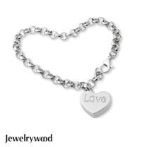 Jewelrywood 純銀真心手鍊