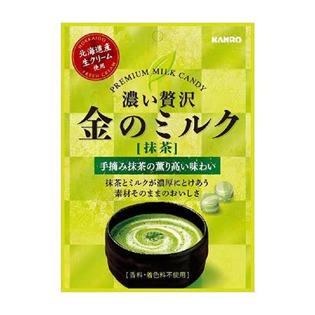 日本甘樂 黃金抹茶牛奶糖70g