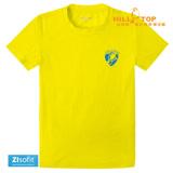【hilltop山頂鳥】童款Zlsofit吸濕排汗上衣S04C08螢光硫