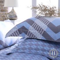 HOYACASA<BR>300織長纖細棉被套床組(雙人)