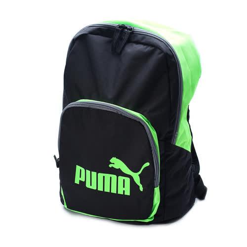 PUMA Phase Backpack Rucksack 後背包 黑綠 073589~14