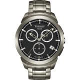 TISSOT T-SPORT 鈦金屬經典時尚三眼計時腕錶 T0694174406100