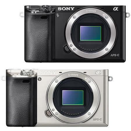 SONY A6000 單機身(公司貨) -加送32G 高速卡+專用電池+座充+專用相機包+清潔組+保護貼+讀卡機+迷你腳架