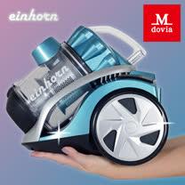 Mdovia 雙層HEPA寵物毛髮專用無袋式吸塵器 藍
