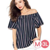 日本ANNA LUNA 預購-大開領2WAY寬袖上衣(共五色/M-3L)