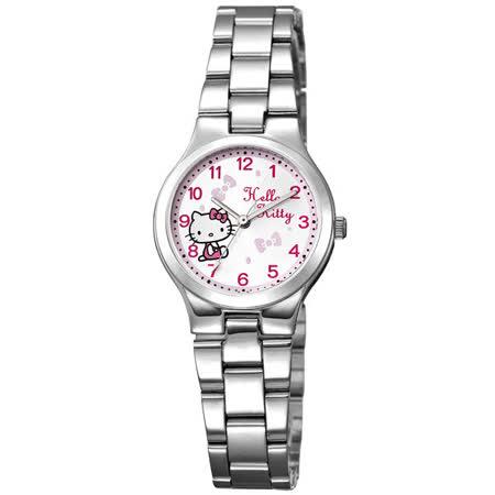 HELLO KITTY 典雅俏麗時尚腕錶-KT602LWWA