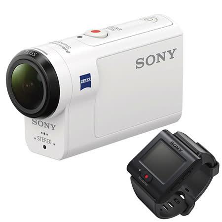SONY HDR-AS300R 運動攝影機套組(公司貨).-送32G記憶卡+原廠鋰電池(NP-BX1)+充電器+清潔組+保護貼+讀卡機+小腳架
