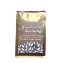 【亞格 福爾摩沙農場】耶加雪夫 特選批次 G1等級(無農藥) 淺烘焙咖啡豆 半磅, Coffee Review 杯測94分