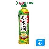 御茶園台灣四季春茶PET550ml*4