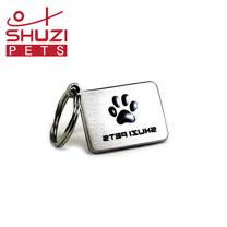 SHUZI™ 方型寵物名牌 - 美國製造