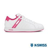 K-Swiss Lundahl WT S 休閒運動鞋-女-白/莓紅/粉紅