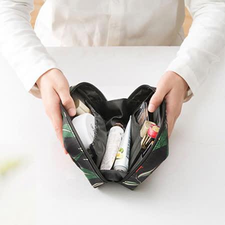 【韓版】禾風超質感新款加厚化妝包/手拿包(2色)