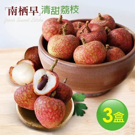 【築地一番鮮】清甜南栖早荔枝3盒(5斤/盒)-預購