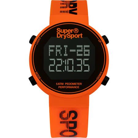 Superdry極度乾燥 街巷行頭運動腕錶-SYG203O