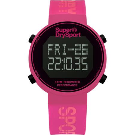 Superdry極度乾燥 街巷行頭運動腕錶-SYL203P
