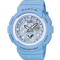 BABY-G 夏季清爽藍海洋風運動錶 BGA-190BE-2A藍