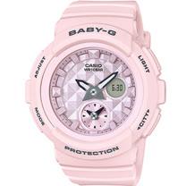 BABY-G 夏季粉紅海洋風運動錶 BGA-190BE-4A 粉