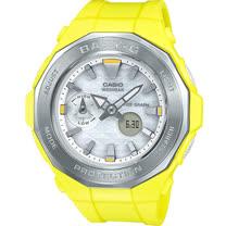 BABY-G 海灘露營潮汐顯示錶 BGA-225-9A 黃