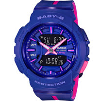 BABY-G 慢跑運動錶 BGA-240L-2A1 紫