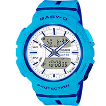 BABY-G 慢跑運動錶 BGA-240L-2A2 藍