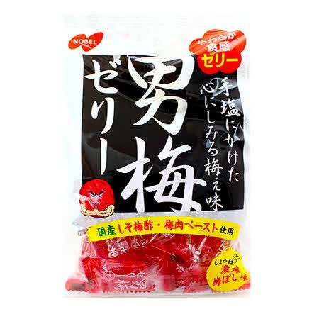 日本諾貝爾 男梅軟糖180g