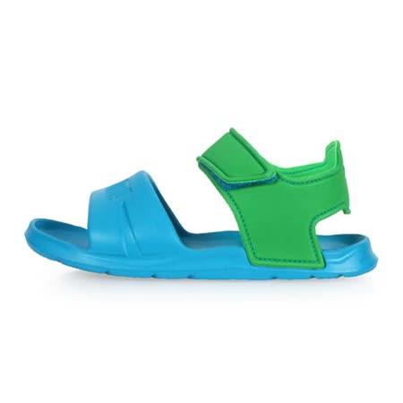 (童) PUMA WILD SANDAL INJEX PS 男女中運動涼鞋 -拖鞋 鞋 水藍綠