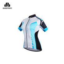 (女) SOOMOM 塞拉短車衣 -單車 自行車 越野 速盟 水藍白黑