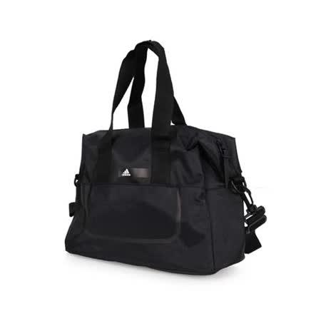 ADIDAS 側背包 -單肩包 手提包 旅行包 斜背包 愛迪達 黑白 F