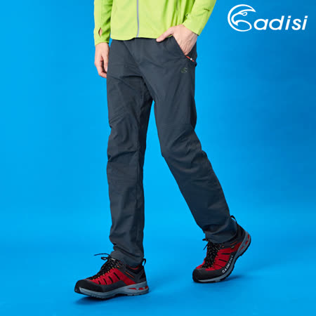 ADISI 男supplex彈性機能長褲AP1711039 (S~2XL) / 城市綠洲專賣(輕薄透氣、耐磨、抗撕裂、吸濕排汗、戶外機能服)
