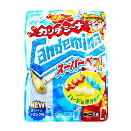 日本甘樂 波浪汽水軟糖72g