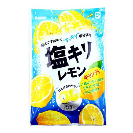 日本甘樂 鹽味檸檬糖75g