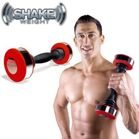 Shake Weight 男性專用搖擺鈴【旋風紅】★買就送英國熊保溫杯 A0790-006