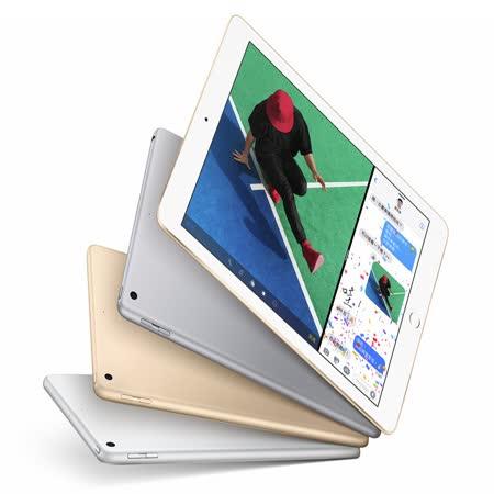 Apple iPad Wi-Fi 128GB 平板電腦 2017新版 公司貨 【贈Summation防水平板包 + 保貼 + i線頭保護套 + 觸控筆】
