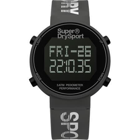 Superdry極度乾燥 街巷行頭運動腕錶-SYG203E